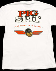 Pig Spit White Back